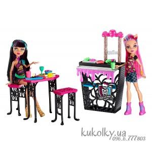 Мебель Крипатерия с куклами Хоулин и Клео Creepteria with Cleo de Nile and Howleen