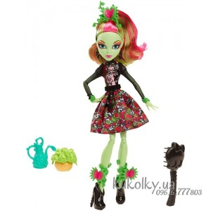 Кукла Монстер Хай Мрачное цветение Венера Макфлайтрап