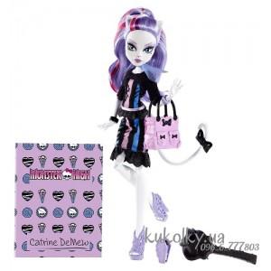 Кукла Катрин Скарместр Монстер Хай (Monster High New Scaremester Catrine DeMew)