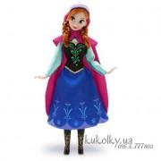 Холодное сердце классическая кукла Анна