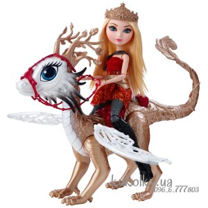 Кукла Игры Драконов Эппл Вайт Эвер Афтер Хай с драконом