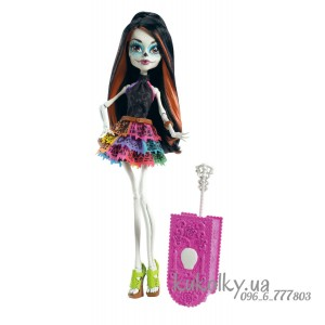 Кукла Скелита Скариж (Monster High Skelita Calaveras Travel Scaris)