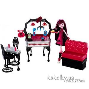 Набор кукла Дракулаура и мебель для закусочной Монстер Хай
