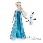 Холодное сердце Эльза классическая со снеговиком Олафом